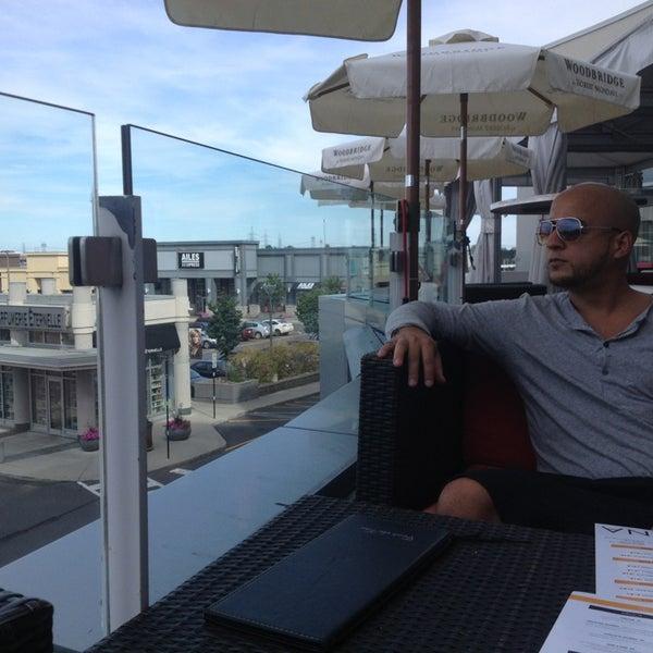 Photo taken at La Fontana Gelati Bar Lounge by Ayoub D. on 7/27/2013