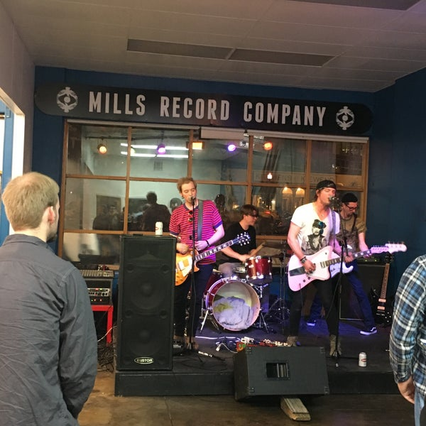 Photo taken at Mills Record Company by Nick T. on 11/10/2016