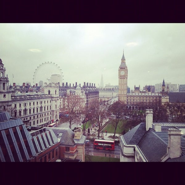Photo taken at Queen Elizabeth II Conference Centre by Ashley B. on 11/27/2012