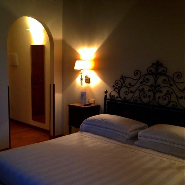 Photo taken at Villa Olmi Firenze by Giulia N. on 6/9/2014