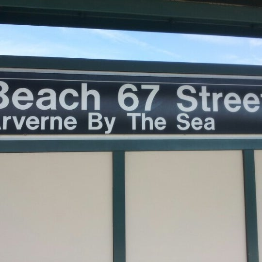 Mta Subway Beach 67th St Arverne By The Sea A Metro