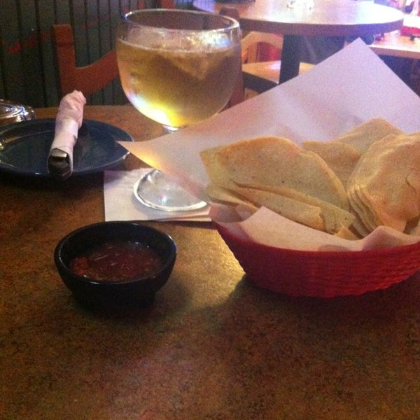 Photo taken at Don Pablo's by Erin C. on 1/5/2013