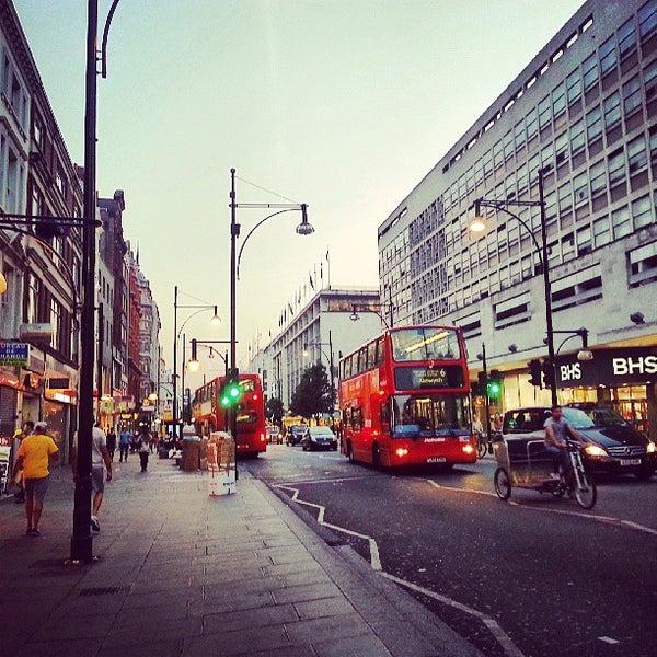 Photo taken at Oxford Street by Frederico on 7/9/2013