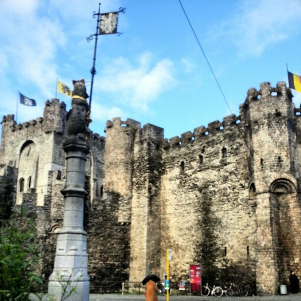 Photo taken at Castle of the Counts by Robert v on 12/25/2012