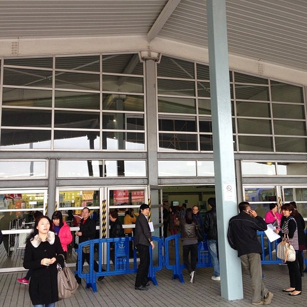 Photo taken at Taipa Ferry Terminal by William K. on 2/16/2013