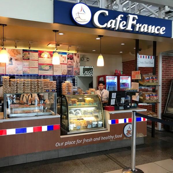 Photo taken at Café France by William K. on 8/20/2017