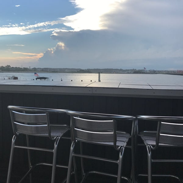 Photo taken at Marina Deck Resturant by Larry S. on 7/1/2017