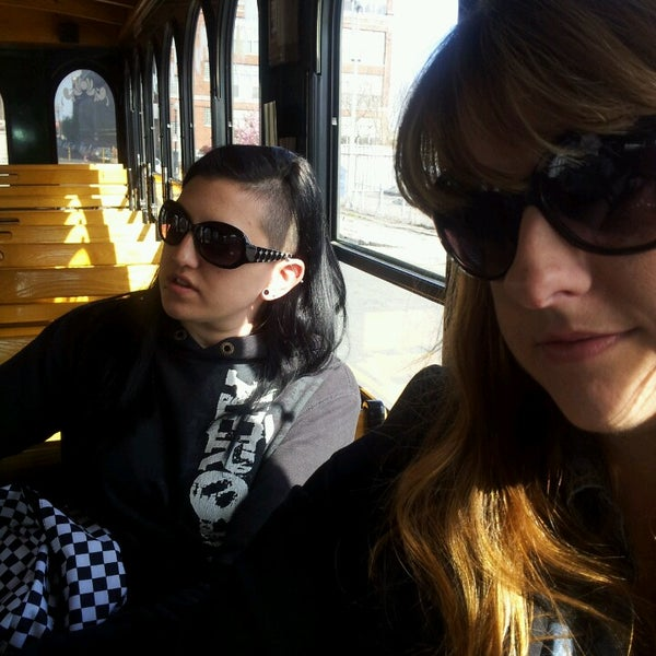Photo taken at Old Town Trolley Tours of Boston by Allison B. on 5/5/2013