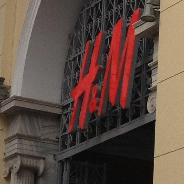 Photo taken at H&M by Gerasimos E. on 2/4/2013