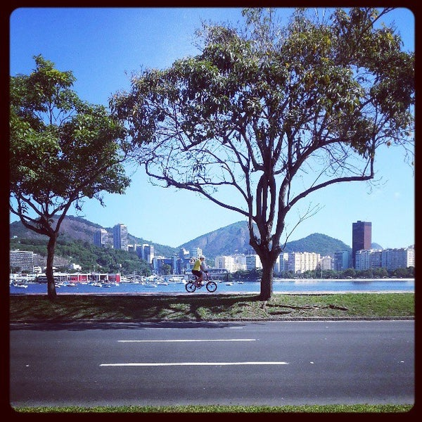 Photo taken at Flamengo Park by Marcus A. on 4/6/2013