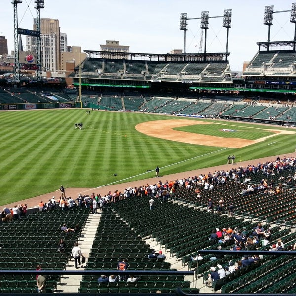 Photo taken at Comerica Park by Steven M. on 5/26/2013