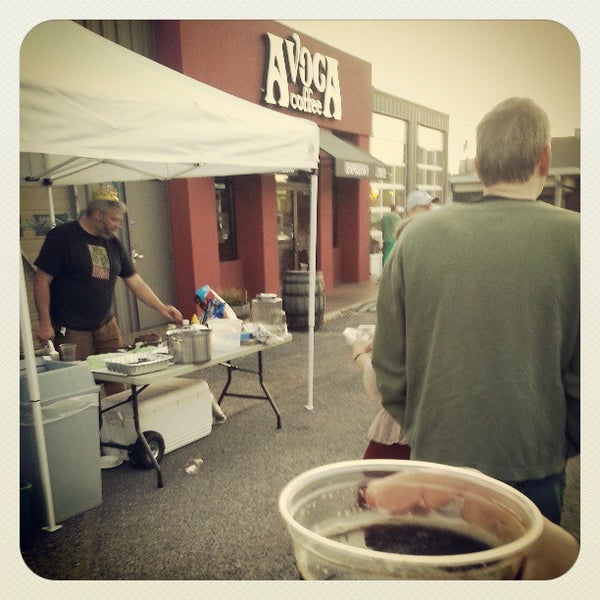 Photo taken at Avoca Coffee by C T. on 3/18/2013