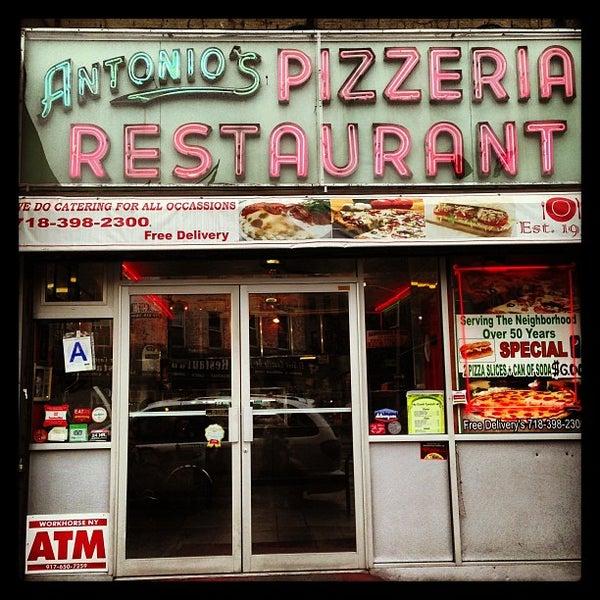 Photo taken at Antonio's Pizzeria by *Bitch Cakes* on 9/2/2013