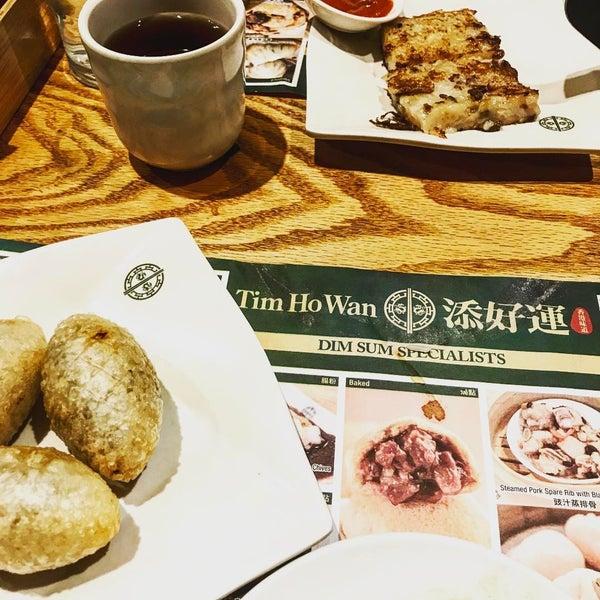 Photo taken at Tim Ho Wan 添好運 by Jonathan H. on 4/18/2017