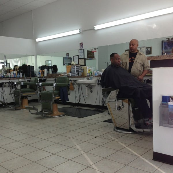 Algie 39 s barber and beauty salon salon barbershop - Barber vs hair salon ...