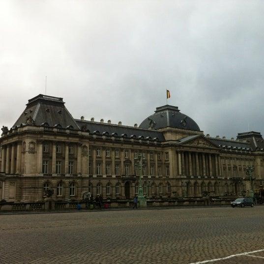 Photo taken at Paleizenplein / Place des Palais by Ahmet H. on 11/10/2012