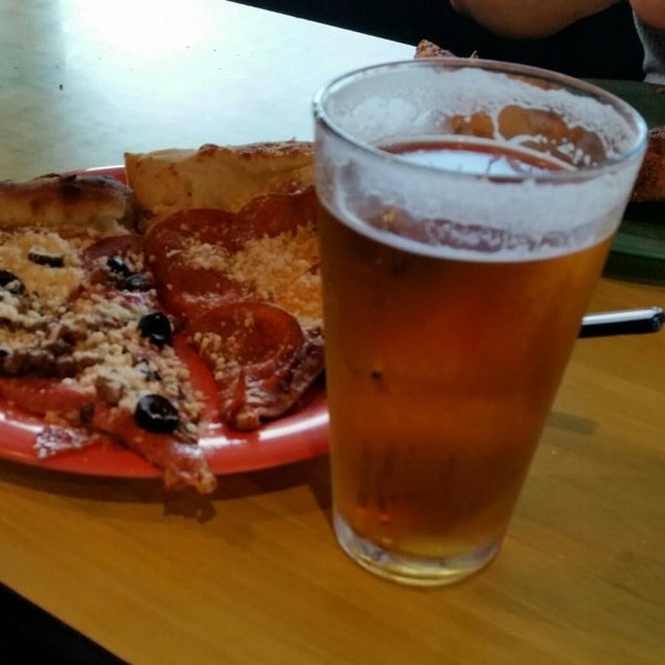 Photo taken at Pizza Schmizza Pub & Grub - Salmon Creek by Tyler W. on 8/8/2016