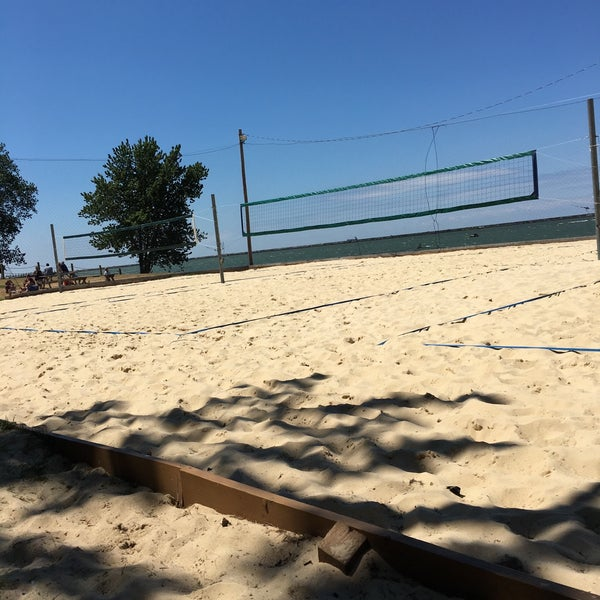 Photo taken at Whiskey Island Volleyball Courts by Ricardo T. on 7/9/2016