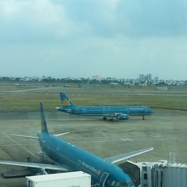 Photo taken at Tan Son Nhat International Airport (SGN) by Ron B. on 3/24/2013