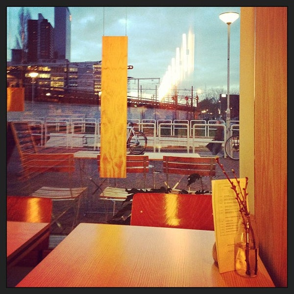 Photo taken at Lokaal Espresso by Thijs W. on 1/10/2013