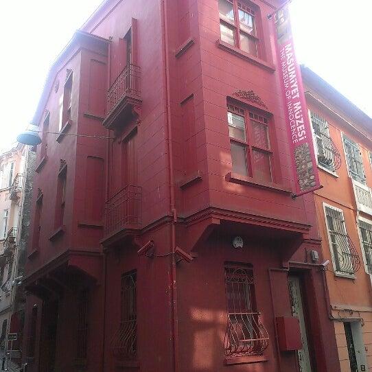 1/4/2013 tarihinde tarık e.ziyaretçi tarafından Masumiyet Müzesi'de çekilen fotoğraf