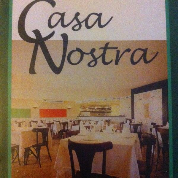 Foto tirada no(a) Casa Nostra por Maia Filho em 8/10/2013