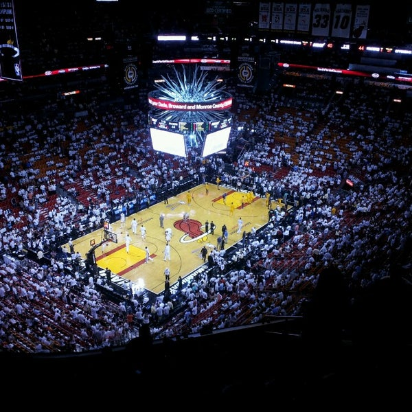 Photo taken at American Airlines Arena by Julio J. on 5/31/2013