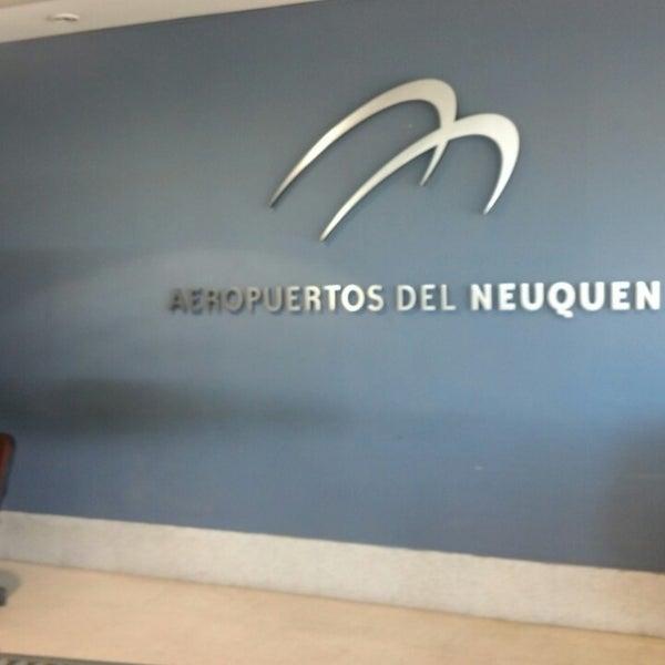 Foto tomada en Aeropuerto Internacional del Neuquén - Presidente Juan D. Perón (NQN) por Gando el 3/27/2013