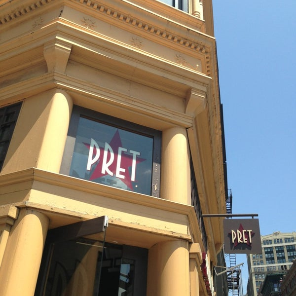 Photo taken at Pret A Manger by Jamil S. on 7/15/2013