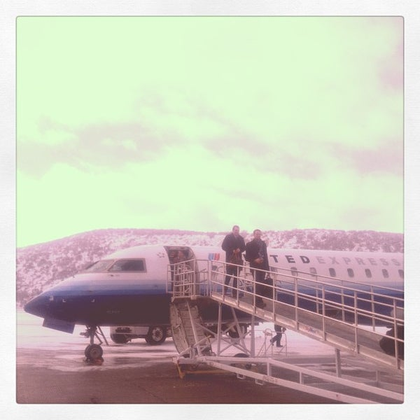 Photo taken at Aspen/Pitkin County Airport (ASE) by Sean M. on 1/31/2013