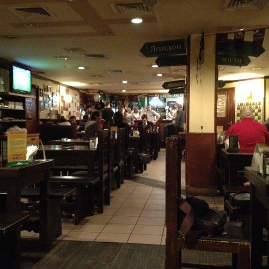Снимок сделан в Molly Malone's Pub пользователем Аня 11/8/2012
