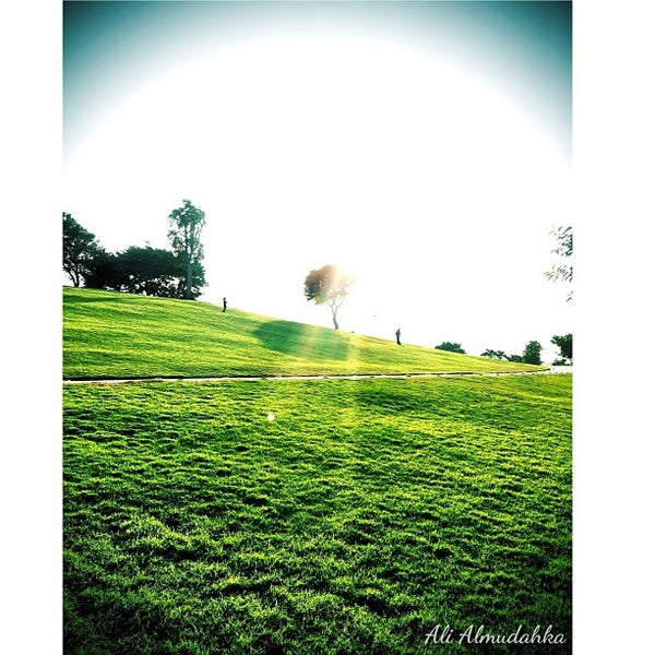Photo taken at Aspire Park by Ali on 12/1/2012
