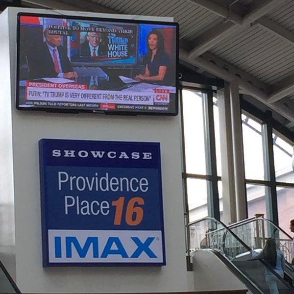 Photo taken at Showcase Providence Place & IMAX by John E. on 7/8/2017