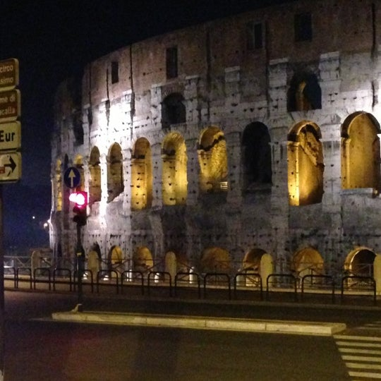 Photo taken at Piazza del Colosseo by Marco on 11/26/2012