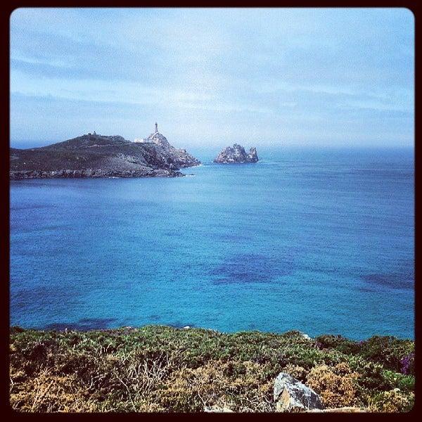 Photo taken at Faro de Cabo Vilán by Luca C. on 7/19/2013
