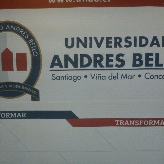 Foto tomada en Universidad Andrés Bello por Marcos G. el 3/22/2013