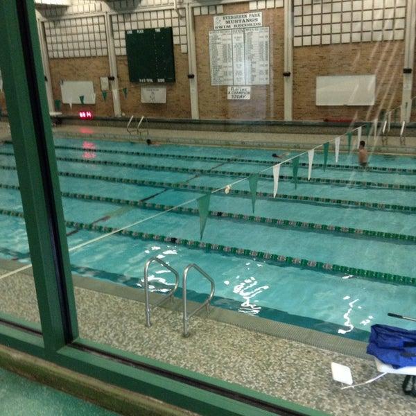 Photos at evergreen park high school pool evergreen park il - Evergreen high school swimming pool ...