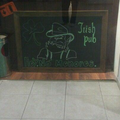 Photo taken at Dublin's Irish Pub by David R. on 11/4/2012