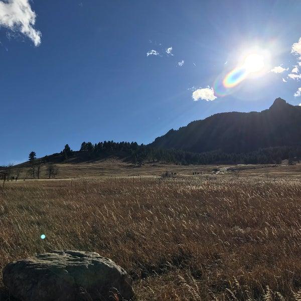 Photo taken at Colorado Chautauqua National Historic Landmark by Fuyu on 11/4/2017