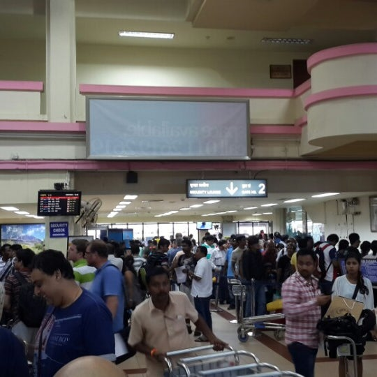 Photo taken at Goa International Airport / Dabolim Airport (GOI) by Vaibhav L. on 7/28/2013