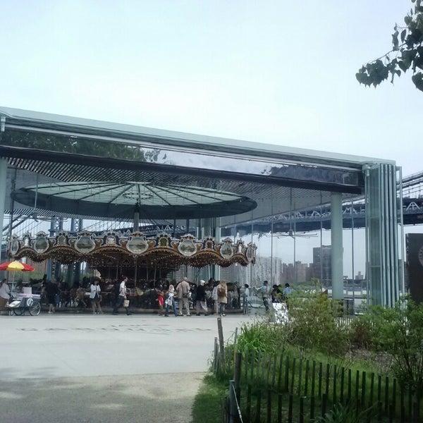 Photo taken at Jane's Carousel by Elvia N. on 5/17/2013