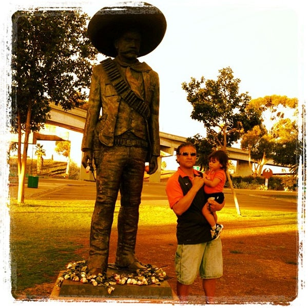 Photo taken at Chicano Park by Frank A. on 9/1/2013