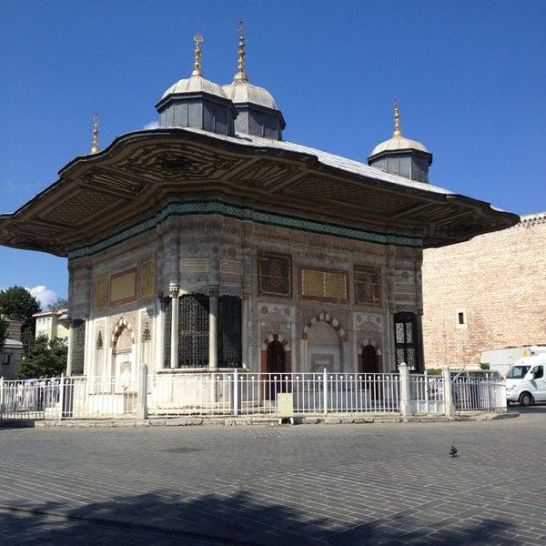 Das Foto wurde bei Ayasofya Hürrem Sultan Hamamı von Erkan D. am 9/1/2013 aufgenommen
