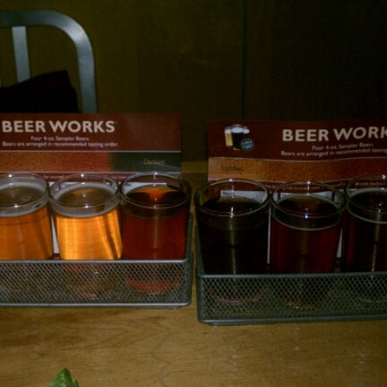 Photo taken at Boston Beer Works by Dev on 1/27/2013