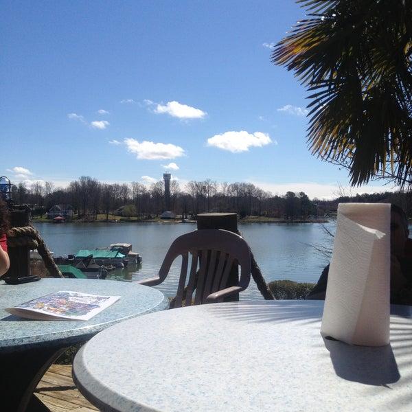 Photo taken at Eddies on Lake Norman by Brian on 4/14/2013