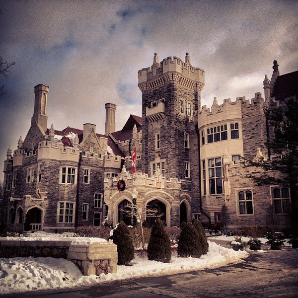 Photo taken at Casa Loma by C. M. on 1/2/2013