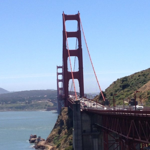 Photo taken at Vista Point by Lev on 5/24/2013