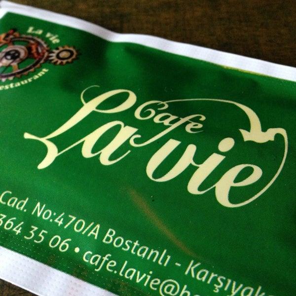 Photo taken at Cafe La Vie by Tugce U. on 12/19/2012