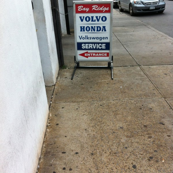 Photo Taken At Bay Ridge Honda Volvo Volkswagen Service Center By Don On  7/12