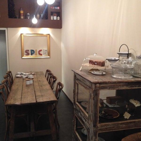 Photo taken at Spice Café by Joan P. on 11/30/2013